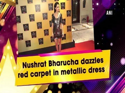 Nushrat Bharucha dazzles red carpet in metallic dress Mp3