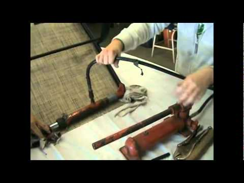 replacement chair slings rolling dining chairs part 4 how to replace a sling youtube