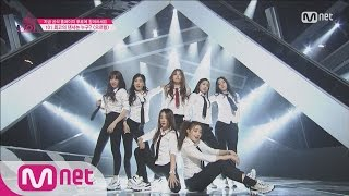 [Produce 101] Having the Girl Crush! – EXO ?Growl @Position Eval.(DANCE) EP.07 20160304