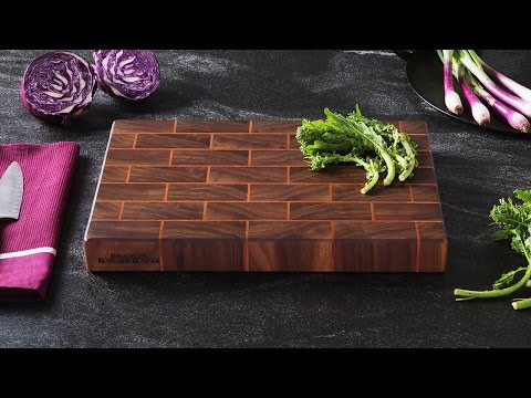 Brooklyn Butcher Blocks | End-Grain Cutting Board