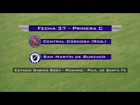 Fecha 37: Central Córdoba vs San Martín de Burzaco - EN VIVO