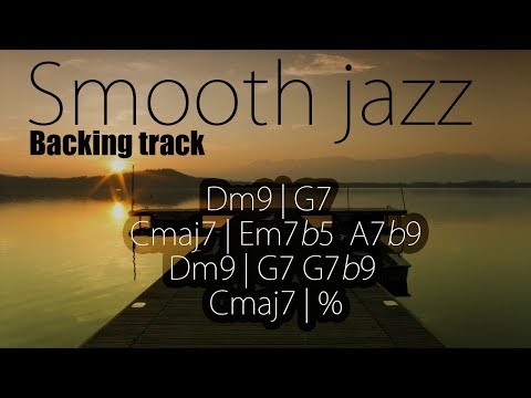Smooth Jazz Backing Track | 90 BPM *HIGH QUALITY*