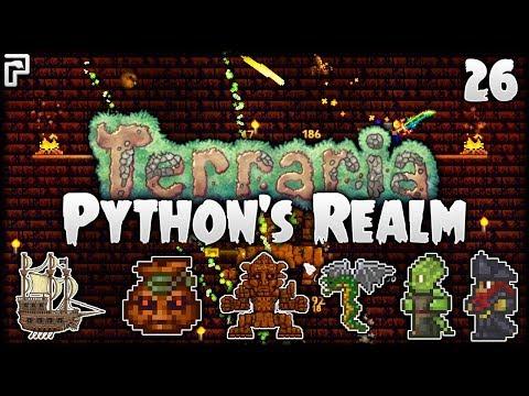 Trap Defuser, Temple & Golem! | Terraria Let's Play (1.3.5) | Python's Realm [S2 - Episode 26]