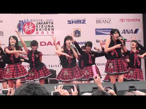 [FANCAM] JKT48 - Pareo Wa Emerald at Kizuna Ekiden