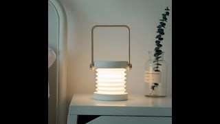 Infinite Ways to Use Rechargeable Collapsible Lamp