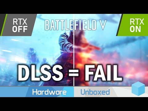Battlefield V DLSS Tested, The Biggest RTX Fail Of Them All thumbnail