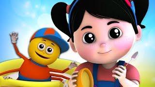 Little Miss Muffet | Nursery Rhymes & Cartoon Songs For Babies by Kids Baby Club