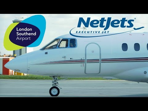 ✈ NetJets Hawker 800XPi CS-DRW Start Up & Departure From London Southend Airport
