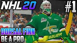 NHL 20 | Dorsal Finn | Be a Pro (Goalie)