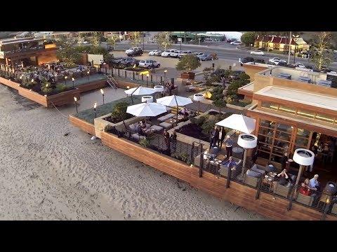 Nobu and Nikita Restaurant Carbon Beach Malibu California DJI Phantom DSLR Pros GoPro