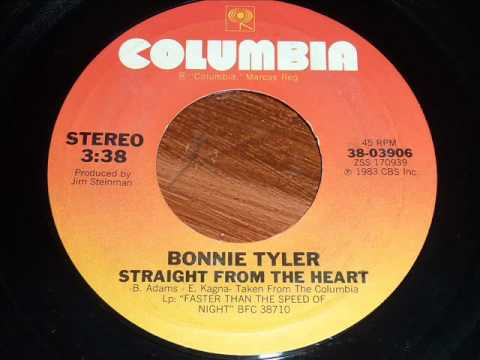Bonnie Tyler - Straight From The Heart 45rpm