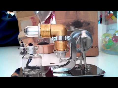Excellent Mini Hot Air Stirling Engine Motor Model Educational Toy