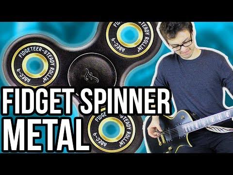Fidget Spinner Metal!!    #FIDJENT