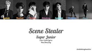 Super Junior (슈퍼주니어) - Scene Stealer (Color Coded Lyrics) [H…