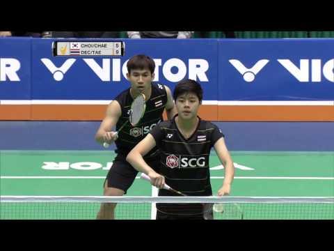 Jeju Victor Korea Masters 2016   Badminton SF M5-XD   Choi/Chae vs Pua/Tae