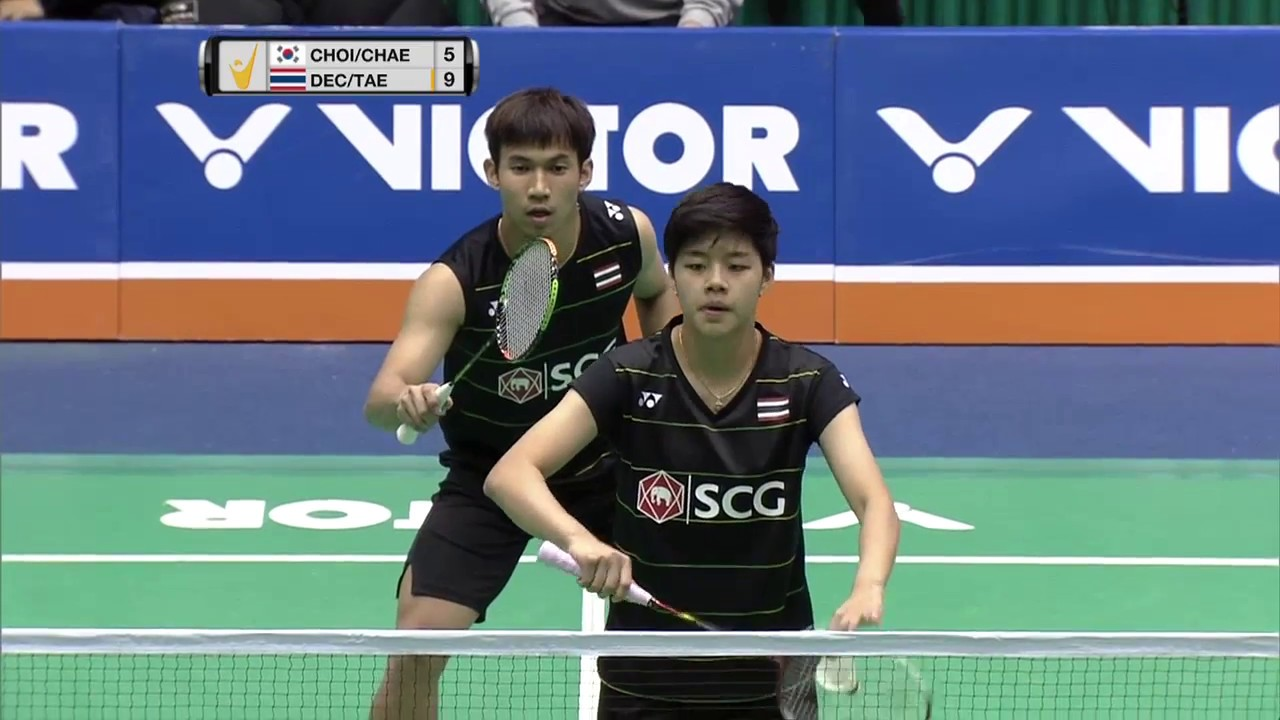 Jeju Victor Korea Masters 2016 Badminton SF M5 XD
