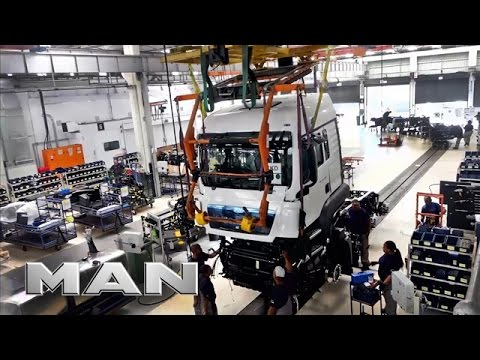MAN plant in Pinetown - First carbon neutral truck factory i