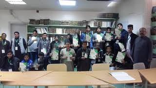 تدشين مشروع ( مهن ) بثانوية الرواد بريدة تحت إشراف المرشد الطلابي أ / مصطفى مصيلحي