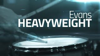 Evans Heavyweight - Snare Drum Head Review
