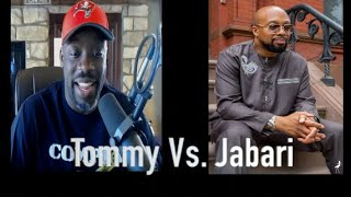 Brother Jabari Debates Tommy Sotomayor:  On Blacks Voting Donald Trump & Religion.