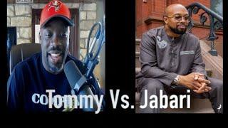 Brother Jabari Debates Tommy Sotomayor:  On Blacks Voting Donald Trump & Religion.