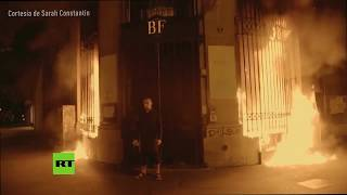 Piotr Pavlenski et la Banque de France