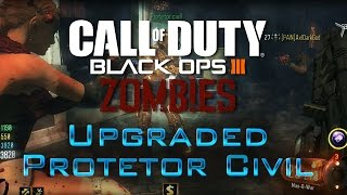 Zombies | Shadows Of Evil: Como ter Protetor Civil com Upgrade