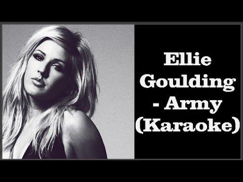 Ellie Goulding   Army Karaoke