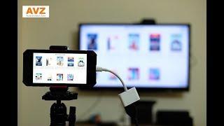 Kết nối iPad, iPhone với TV, máy chiếu thật đơn giản