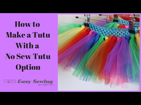 How To Make Tutu Quick And Easy