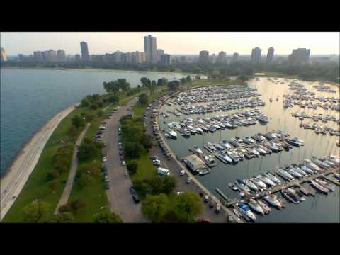 Parrot Bebop Drone at Montrose Harbor Chicago Illinois 2