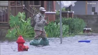 Florence: Trump declara situação de emergência na Carolina do Norte