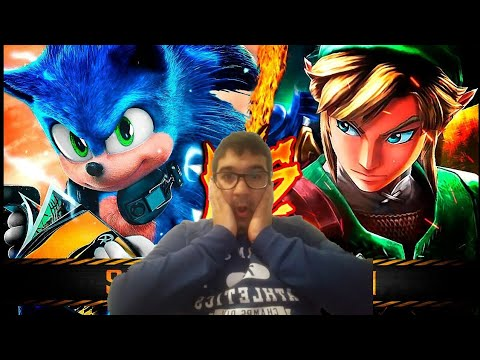 Reaccion SONIC VS. LINK ║ COMBATES MORTALES DE RAP: SPECIAL EDITION ║ JAY-F