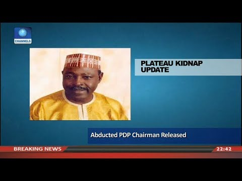 Abducted Plateau PDP Chairman Released Pt 3 | News@10 |