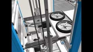 видео: Лифтовые автоматизированные стеллажи Kardex Remstar XP