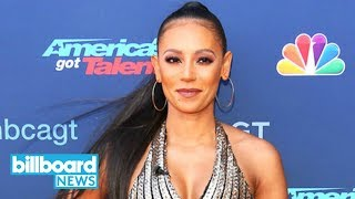 Mel B Throws Water at Simon Cowell, Storms Off