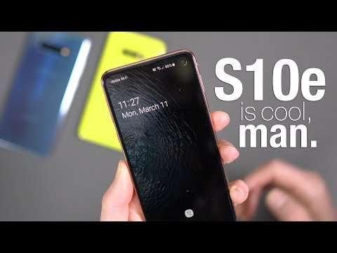Galaxy S10e: Some of Its Special, Cool Stuff!