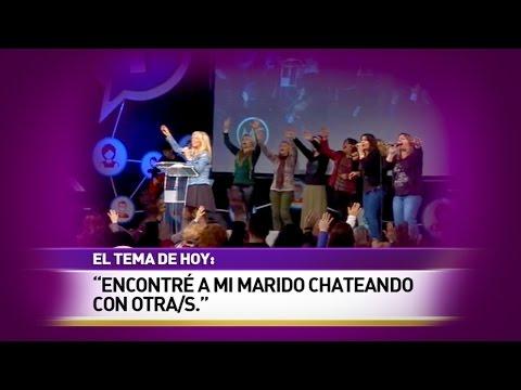 """Encontré a mi marido chateando con otra/s"" - Auditorio MF 2014"