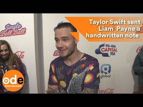 Taylor Swift sent Liam  Payne a handwritten note and presents
