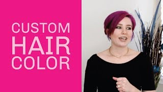 Custom Colors with oVertone Conditioner