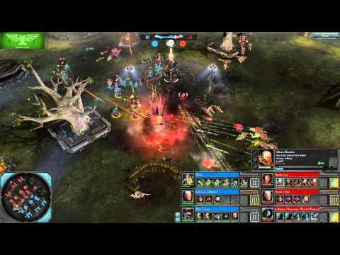 Dawn of War II: Retribution - Noisy, Giddolo, Hive Tyrant vs. Snake City, Board 2 Deaf, Batman