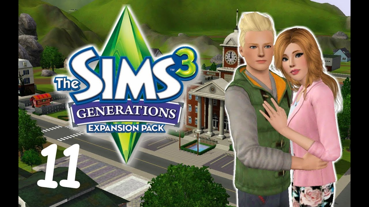 Let's Play: The Sims 3 Generations (Ep 11) New Town!