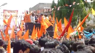 Tarun Sagar  Banayege Mandir Song at Sri Ram Navami 2012 Hyderabad