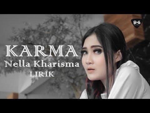 "KARMA (Guyon Waton) Cover Nella Kharisma ""LIRIK"" LAGISTA"