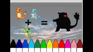 How to Draw Charmander+Squirtle+Caterpie