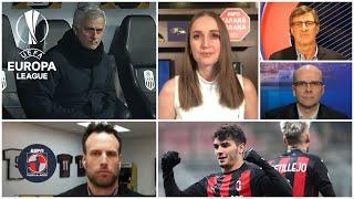 ¿MOURINHO decepcionado con el Tottenham frente al LASK? Sin Ibrahimovic, MILAN pasó la prueba | FDJ