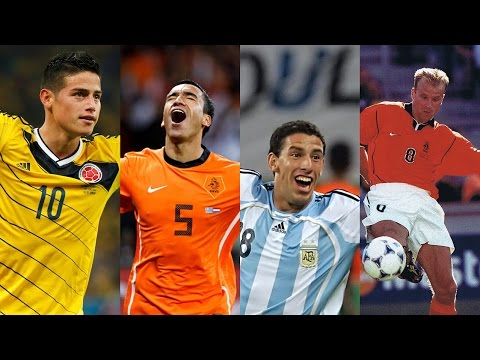 Goals of the Tournament ● World Cup (1970-2014) - HD