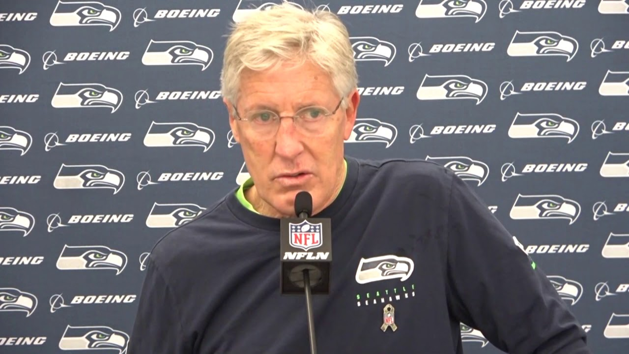 Pete Carroll on Rams Loss 2020-11-16