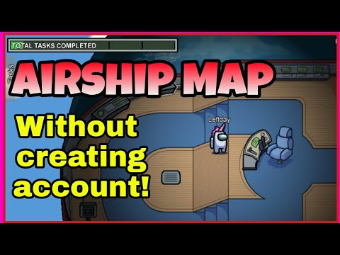 How to Play Airship Map Without Creating Account | Among Us |
