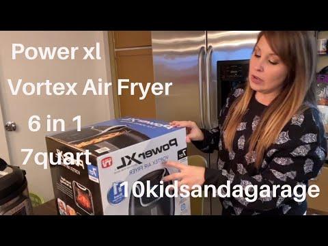 POWER XL VORTEX AIR FRYER | 6 IN 1 | 7 QUART | PORK CHOP RECIPE | HOMESCHOOL MOM OF 10